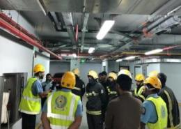 Millennium Taiba Hotel conducts fire drill exercise