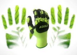Aquila address the environmental issues of industrial gloves