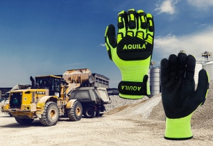 AQUILA3680 TOG5V gloves for anti vibration and general hazard protection