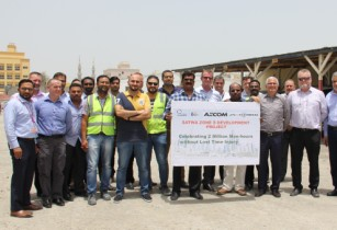 Al Naboodah achieves two million man hours without a lost time injury in Dubai