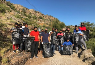 Anantara Al Jabal Al Akhdar World Cleanup Day 1