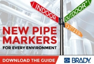 Durably identify pipes in any facility anywhere