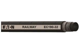 Eaton's new EC190 hose provides a fire-resistant solution