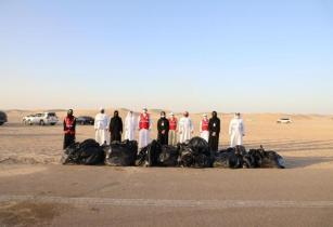 Abu Dhabi: Tadweer carries out campsite clean-up awareness drive