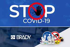 Stop the spread of COVID-19 with free facility signs from Brady