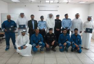 Equate, Kuwait Fire Service Directorate and Ministry of Interior organise firefighting training
