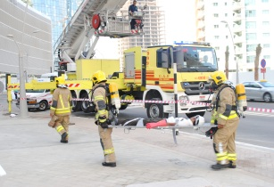 Khidmah's fire drill assesses readiness of emergency response and first aid teams