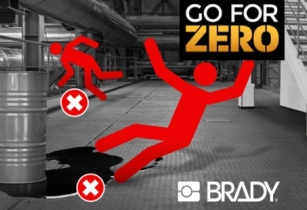 Prevent slips, trips and falls with Brady's solutions