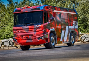 vlvo electric truck line